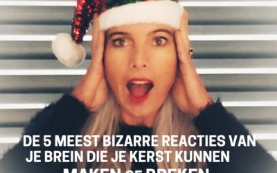 De 5 meest bizarre reacties van je brein die je kerst kunnen maken of breken