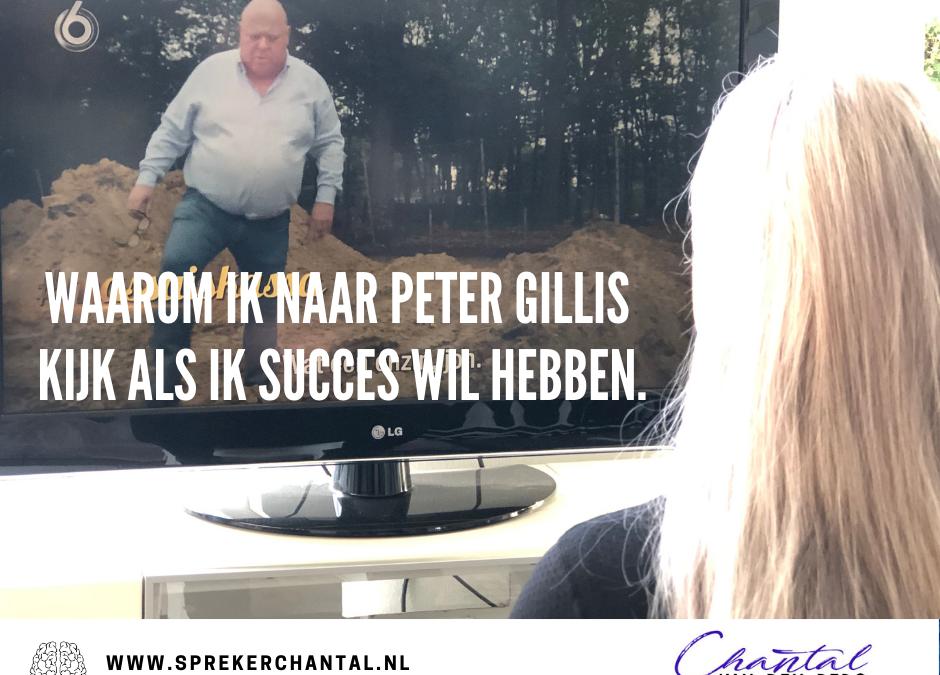 Waarom ik naar Peter Gillis kijk als ik succes wil hebben