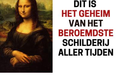 Het geheim van de glimlach van de Mona Lisa