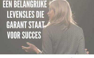 De belangrijkste les die ik uit marketing, management, en ondernemerschap leerde