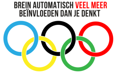 Hoe de Olympische Spelen jouw brein automatisch beinvloeden